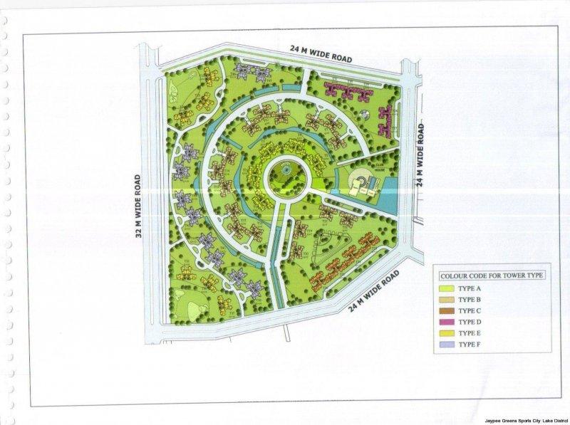 Http Jaypeelakedistrict Propertywala Com Master Plan